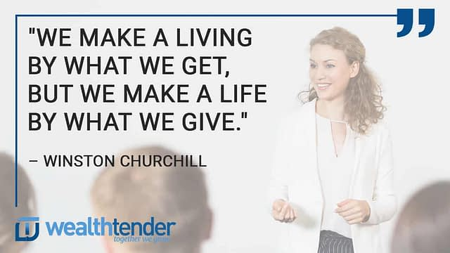 Quote - 6 tips to consider when gifting money