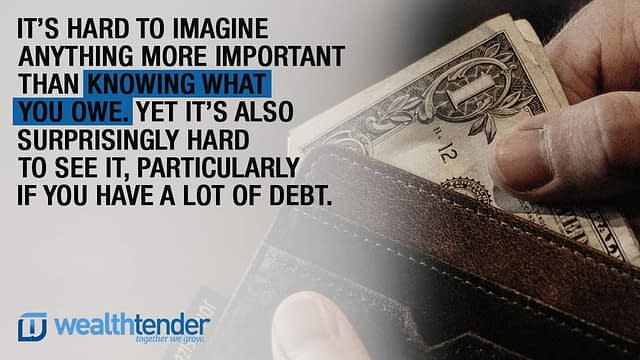 Quote - Hiding from Debt?