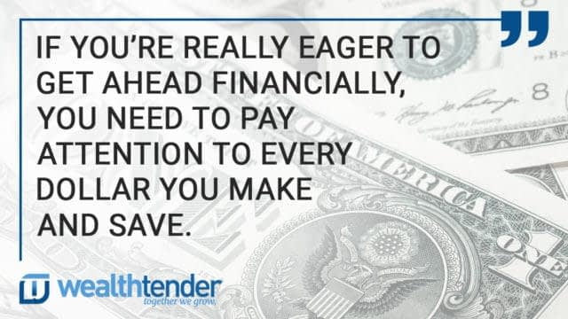 Quote - Want to squirrel away a little cash?