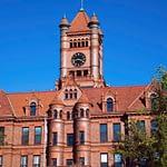 Historical, Courthouse in Wheaton, Illinois