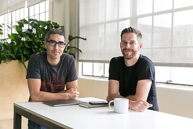 Tally founders Jason Brown and Jasper Platz