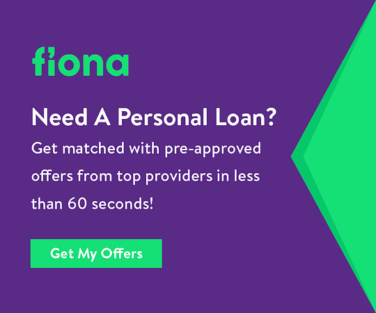 Fiona personal loan ad